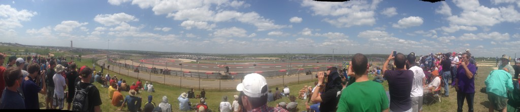 Click on the photo for a detailed panoramic view of the track