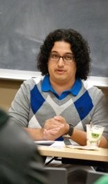 Graduate student Juan Portillo