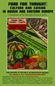 Food conference poster