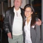 Peter Ward with Heeju Shin