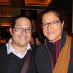 Juan Portillo with Gloria Gonzalez-Lopez
