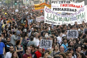Los Indignados in Madrid, Spain (April 27, 2011)