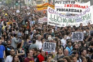 Los Indignados in Madrid, Spain (April 27, 2011)