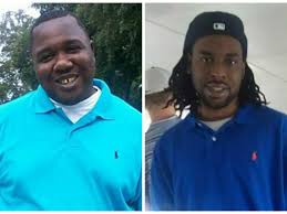 Alton Sterling (left) and Philando Castile (right), two men who were shot and killed by police the week of July 4th, 2016.