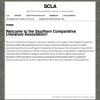 Southern Comparative Literature Association