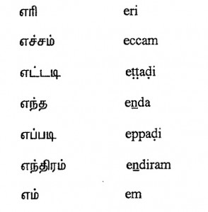 Tamil Script Learners Manual » 3  Learning Moduals